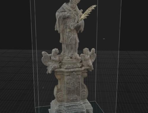 Nepumuk Statue Reconstruction