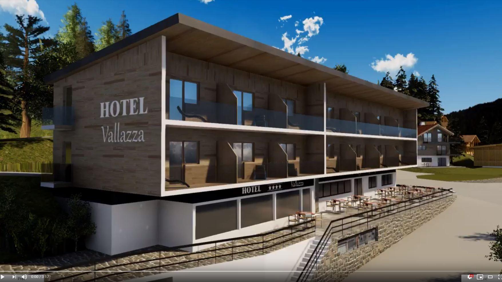 Hotel Vallazza – Realtime ArchViz