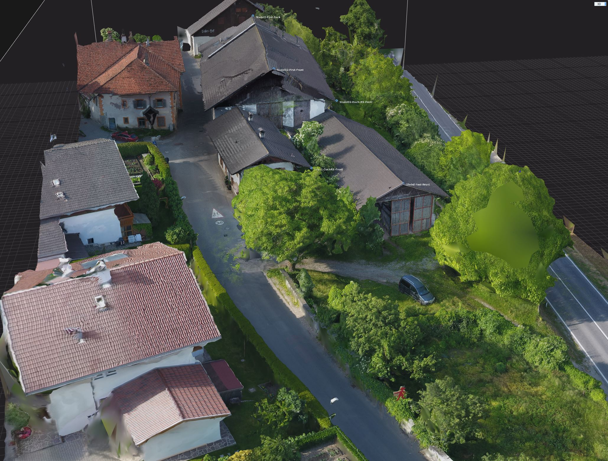 Drone Based 3D Reconstruction